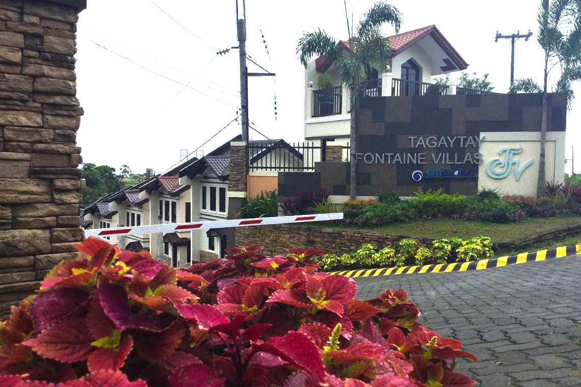 Tagaytay Fontaine Villas a property developed by CitiGlobal